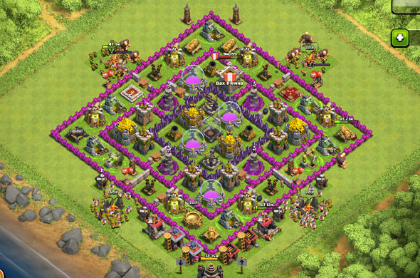 clash-of-clans-dorf-level-9